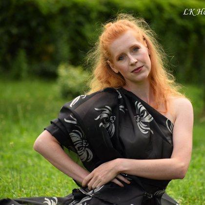 Jitka Průšová, šaty Markéta Ketty