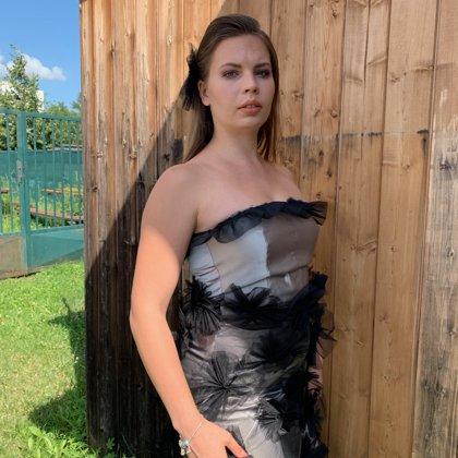 Kristýna Bělková, šaty Markéta Ketty