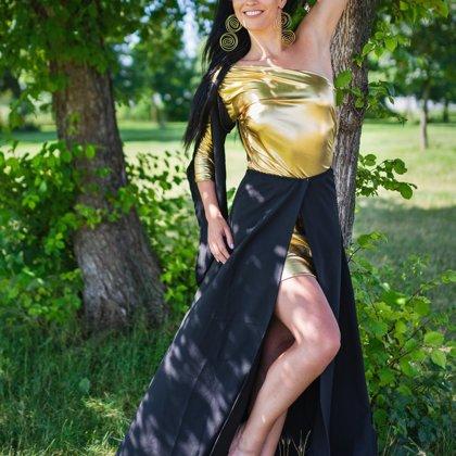 Lenka Buršíková, šaty Markéta Ketty